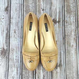 ALEX MARIE|Tan Hadley Professional Pumps Sz 8.5M